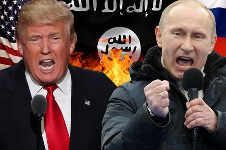 Donald Trump muon cung Nga dinh doat Syria, xoa so IS? - Anh 1