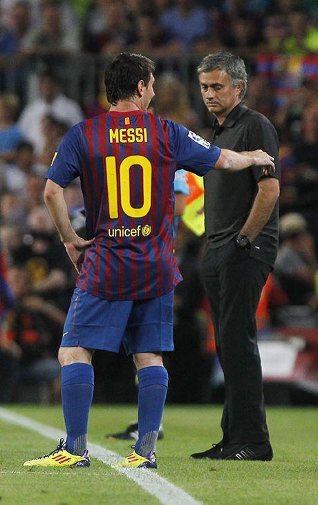 Mourinho: 'Toi mong Messi se o lai Barcelona' - Anh 1