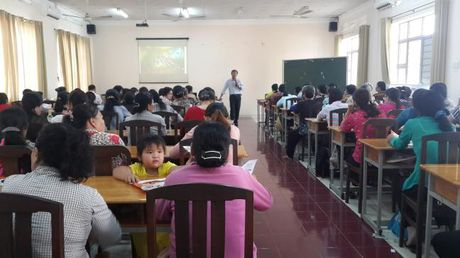 H.Nha Be: Tap huan luat tre em - Anh 2