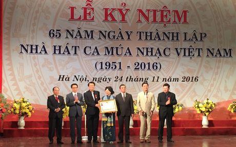 Ky niem 65 nam Nha hat Ca Mua Nhac Viet Nam - Anh 1