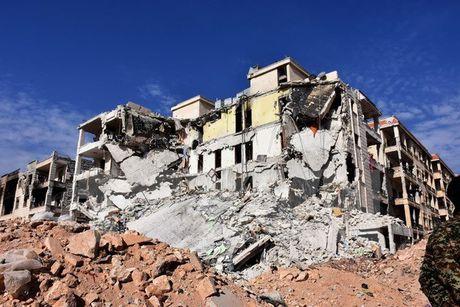 Quan doi Syria giai phong mot khu vuc rong lon tai thanh pho Aleppo - Anh 1