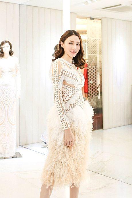 Chan dai Le Ha 'dau dau' chon phuc trang du show Victoria's Secret - Anh 4