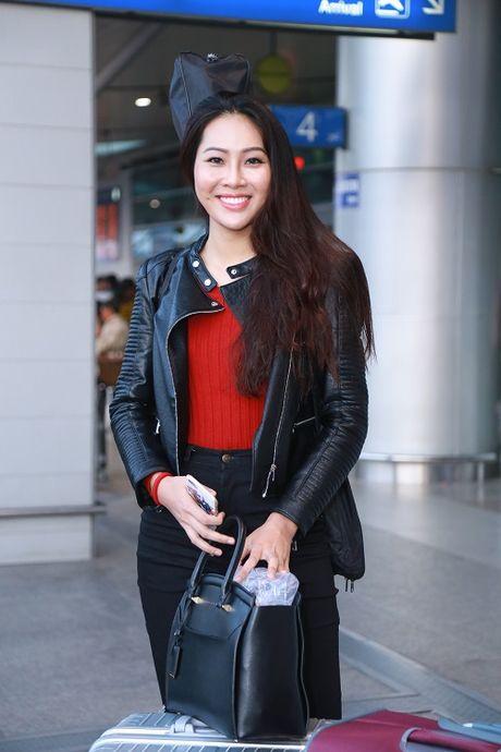 Hoa khoi Dieu Ngoc mang 100kg hanh ly di thi Miss World - Anh 6