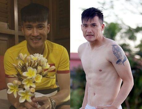 Cong Vinh kheo hinh xam doc trong ngay sinh nhat vo Thuy Tien - Anh 1