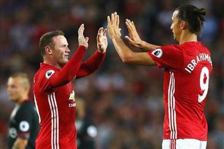Ibrahimovic: 'Rooney la nguoi hoan hao, hay ton trong anh ay' - Anh 1