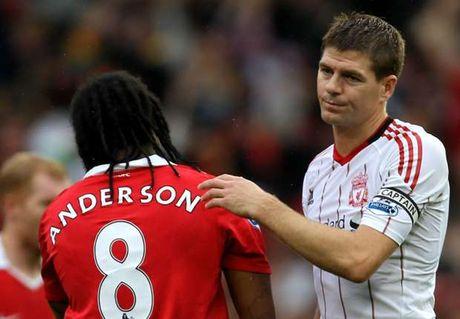 Anderson 'da deu' Gerrard: 'Toi 4 lan vo dich NHA cung M.U' - Anh 1