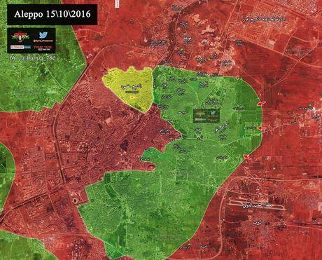 Quan doi Syria da san sang giai phong Dong Aleppo - Anh 1