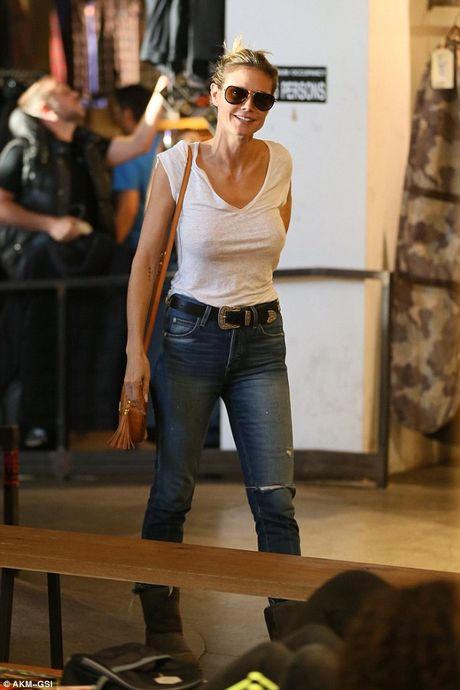 Heidi Klum 'tha rong' di mua sam cung chong cu - Anh 10