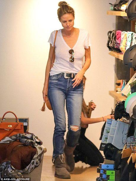Heidi Klum 'tha rong' di mua sam cung chong cu - Anh 1