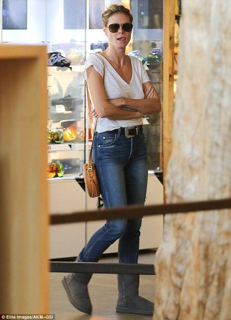 Heidi Klum 'tha rong' di mua sam cung chong cu - Anh 5