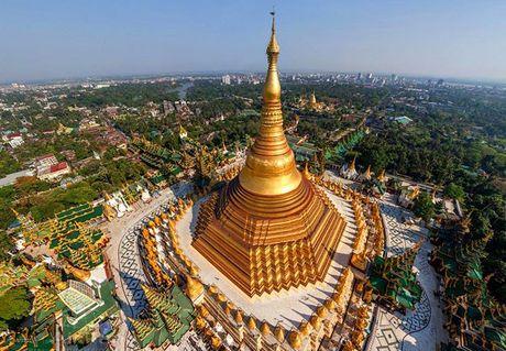 Nhung ngoi chua co noi tieng nhat Myanmar - Anh 1