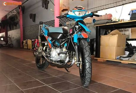 'Quai vat 2 ky' Yamaha 125ZR thay may 250cc doc nhat VN - Anh 1