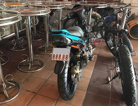 'Quai vat 2 ky' Yamaha 125ZR thay may 250cc doc nhat VN - Anh 6