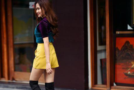 DJ Trang Moon khoe street style nang dong - Anh 4