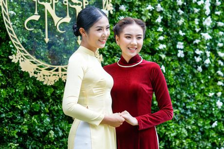 MC Mai Ngoc dien ao dai dinh 2.000 vien ngoc trai trong le an hoi - Anh 8