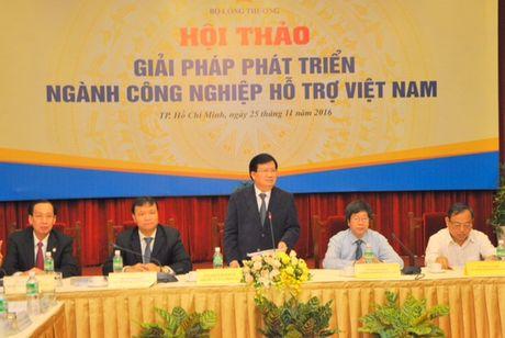 Chu dong tim 'Giai phap phat trien nganh Cong nghiep ho tro Viet Nam' - Anh 1