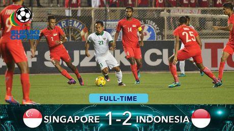 Kich tinh bang A AFF Cup 2016: Thang nguoc Singapore, Indonesia gianh ve vao ban ket - Anh 1
