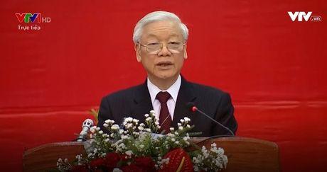 Tong Bi thu noi chuyen voi sinh vien Lao - Anh 1