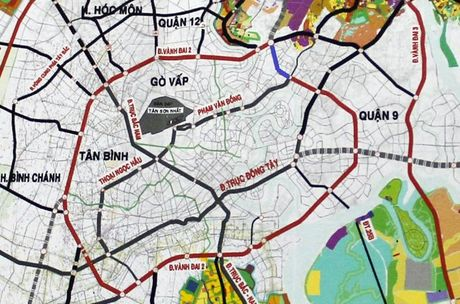 Gan 2.800 ty dong lam 2,7 km duong noi dai lo Pham Van Dong den Quoc lo 1 - Anh 1