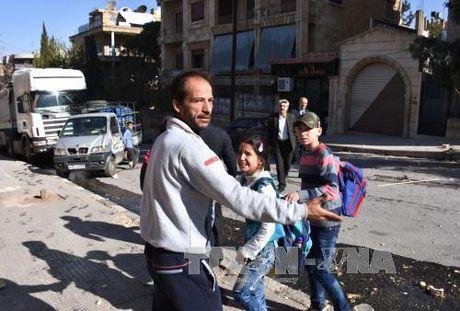 SOHR: Chinh phu Syria oanh tac Aleppo khien 32 thuong dan thiet mang - Anh 1