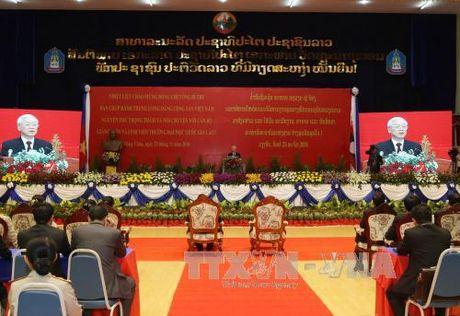 Toan van bai phat bieu cua Tong Bi thu tai truong Dai hoc Quoc gia Lao - Anh 1
