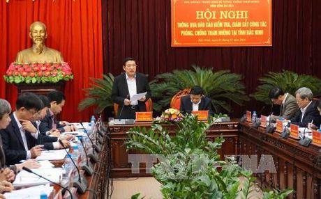 Bac Ninh can tang cuong giam sat, xu ly vu viec tham nhung - Anh 1