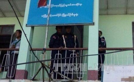 Hai vu no tai tru so chinh quyen Yangon, Myanmar - Anh 1