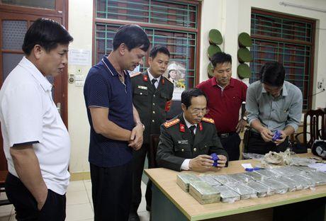 Thuong 'nong' ban chuyen an bat vu van chuyen 20 banh heroin - Anh 1