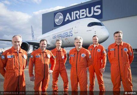 Airbus A350 – 1000 bay thu nghiem thanh cong - Anh 1