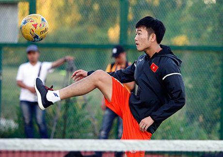 Xuan Truong, Ngoc Hai trinh dien ky thuat o san tennis - Anh 10