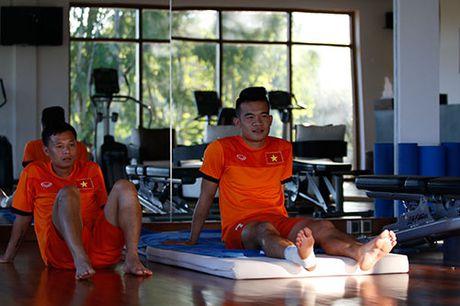 Xuan Truong, Ngoc Hai trinh dien ky thuat o san tennis - Anh 2