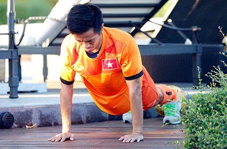 Xuan Truong, Ngoc Hai trinh dien ky thuat o san tennis - Anh 7