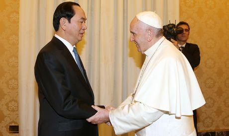 Vatican mong muon thuc day quan he voi Viet Nam - Anh 1