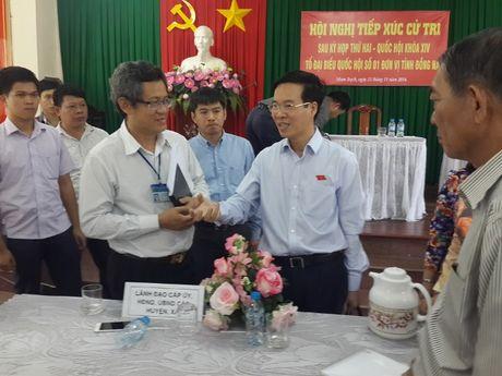 Truong ban Tuyen giao TW tiep xuc cu tri tai Dong Nai - Anh 1