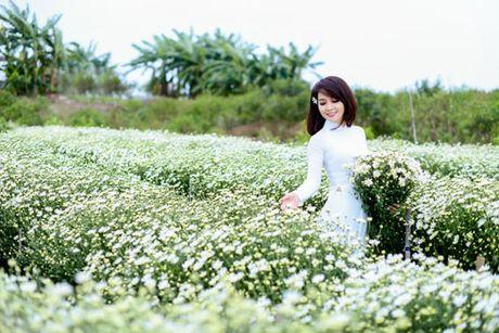 Mai Thu Huyen dep diu dang cung cuc hoa mi - Anh 3