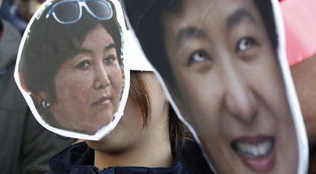 Chi con 4% dan Han Quoc ung ho ba Park Geun-hye - Anh 1