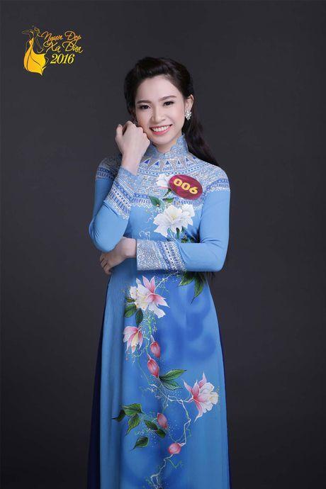 Ngam 19 thi sinh 'Nguoi dep xu Dua 2016' diu dang voi ao dai - Anh 9
