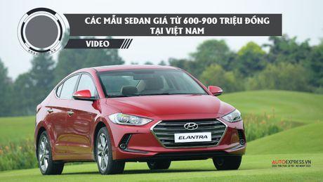Diem ten cac mau xe sedan gia tu 600-900 trieu dong tai Viet Nam - Anh 1