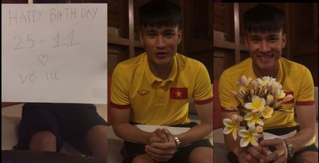 Mon qua bat ngo Cong Vinh gui tang sinh nhat Thuy Tien tu Myanmar - Anh 1