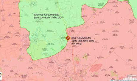 Quan doi Syria o at phan cong phe thanh chien o Hama - Anh 2