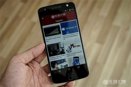 Can canh Motorola Moto Z tai Viet Nam - Anh 13