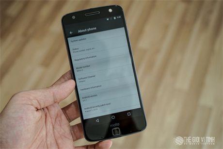 Can canh Motorola Moto Z tai Viet Nam - Anh 15