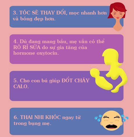 Thay doi ngoai suc tuong tuong cua co the khi mang bau - Anh 2
