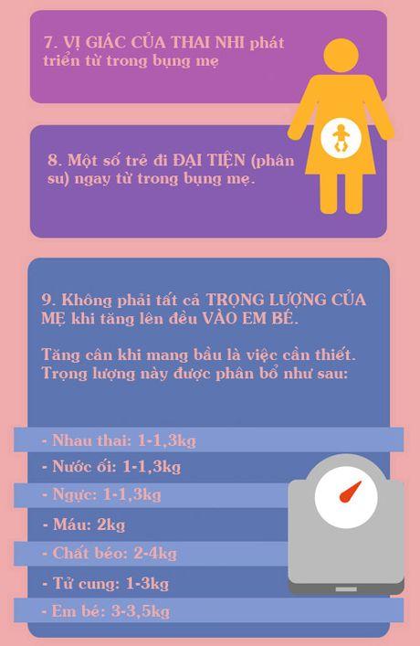 Thay doi ngoai suc tuong tuong cua co the khi mang bau - Anh 3