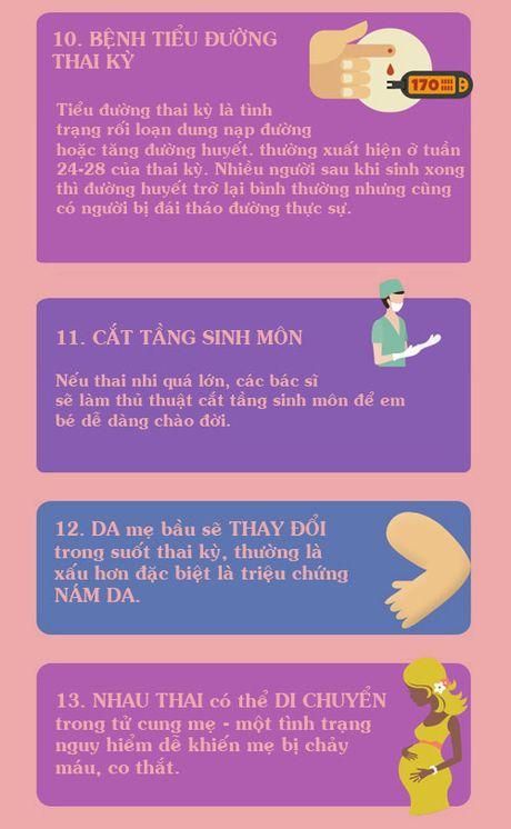 Thay doi ngoai suc tuong tuong cua co the khi mang bau - Anh 4
