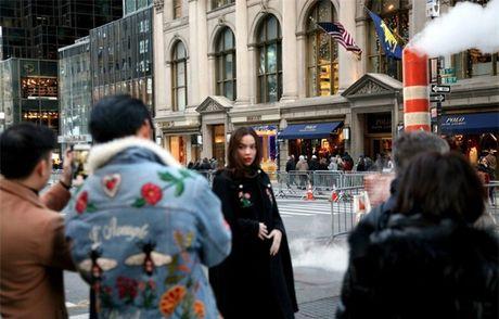 Ho Ngoc Ha om 'dai gia kim cuong' tren duong pho New York - Anh 5