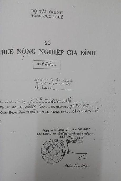 Ba Ria - Vung Tau: Vu dat nong nghiep bi 'ho bien' thanh dat rung phong ho - Anh 4