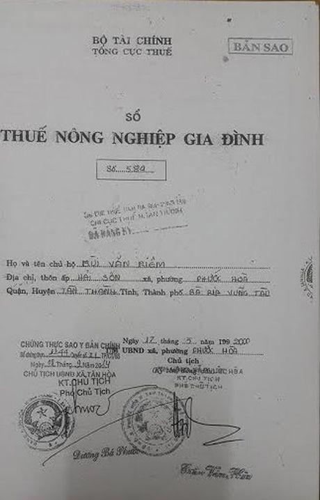 Ba Ria - Vung Tau: Vu dat nong nghiep bi 'ho bien' thanh dat rung phong ho - Anh 5