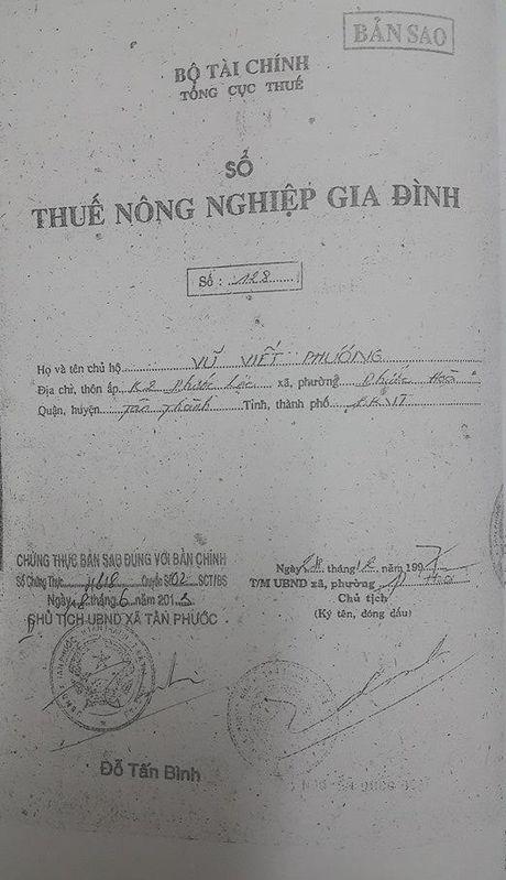Ba Ria - Vung Tau: Vu dat nong nghiep bi 'ho bien' thanh dat rung phong ho - Anh 6