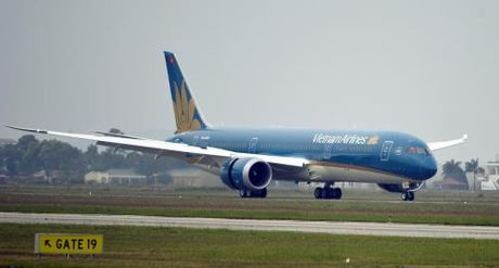 Vietnam Airlines don nhan may bay Boeing 787-9 Dreamliner thu 10 - Anh 2